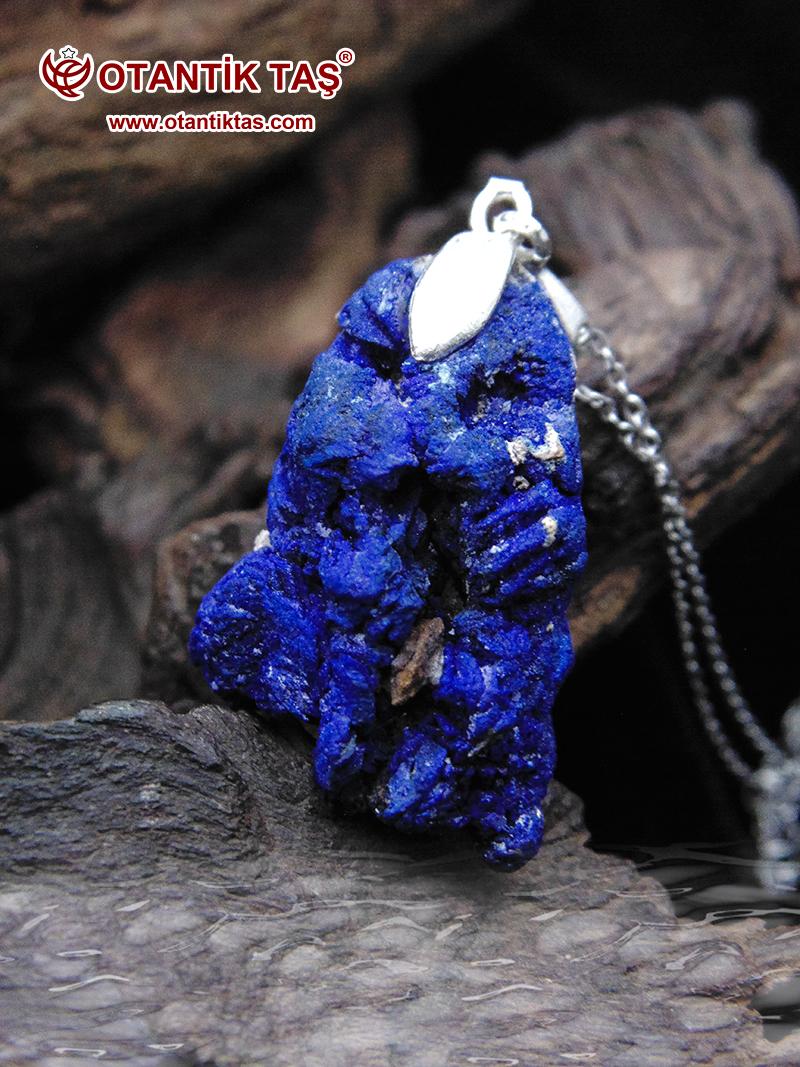 Mavi Azurit Doğal Kaya