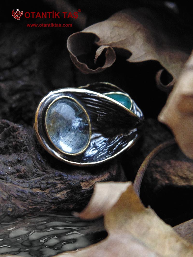Akumarin Gümüş Yüzük