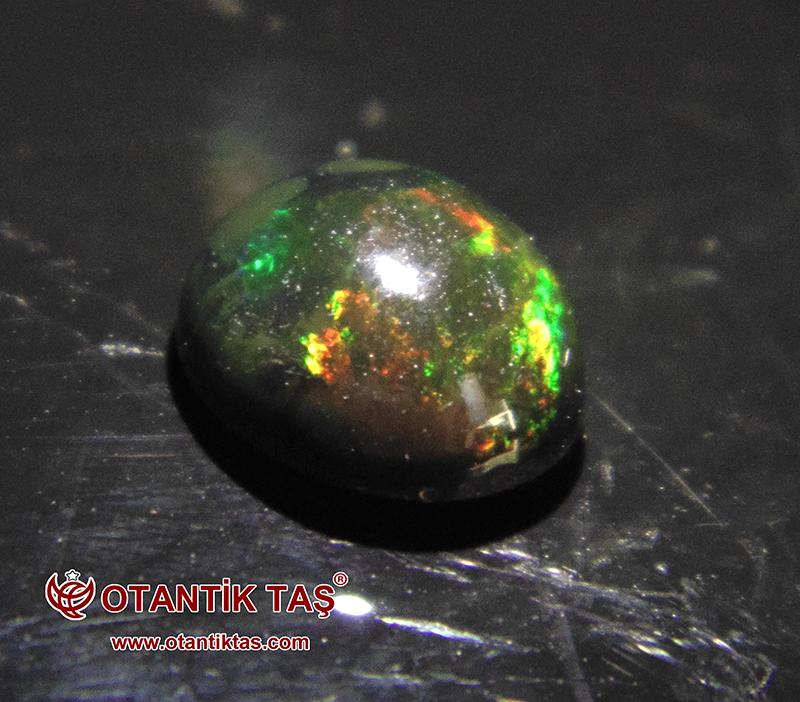 Siyah Ateş Opal Multicolor