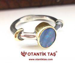 Opal Taşı Yüzük