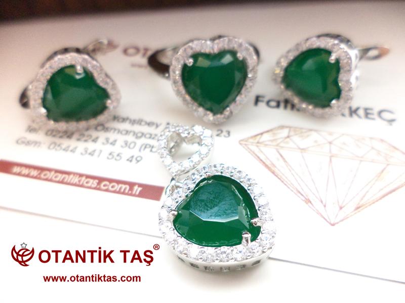 Yeşil Akik Set