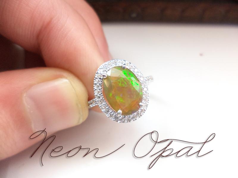 Welo Neon Opal