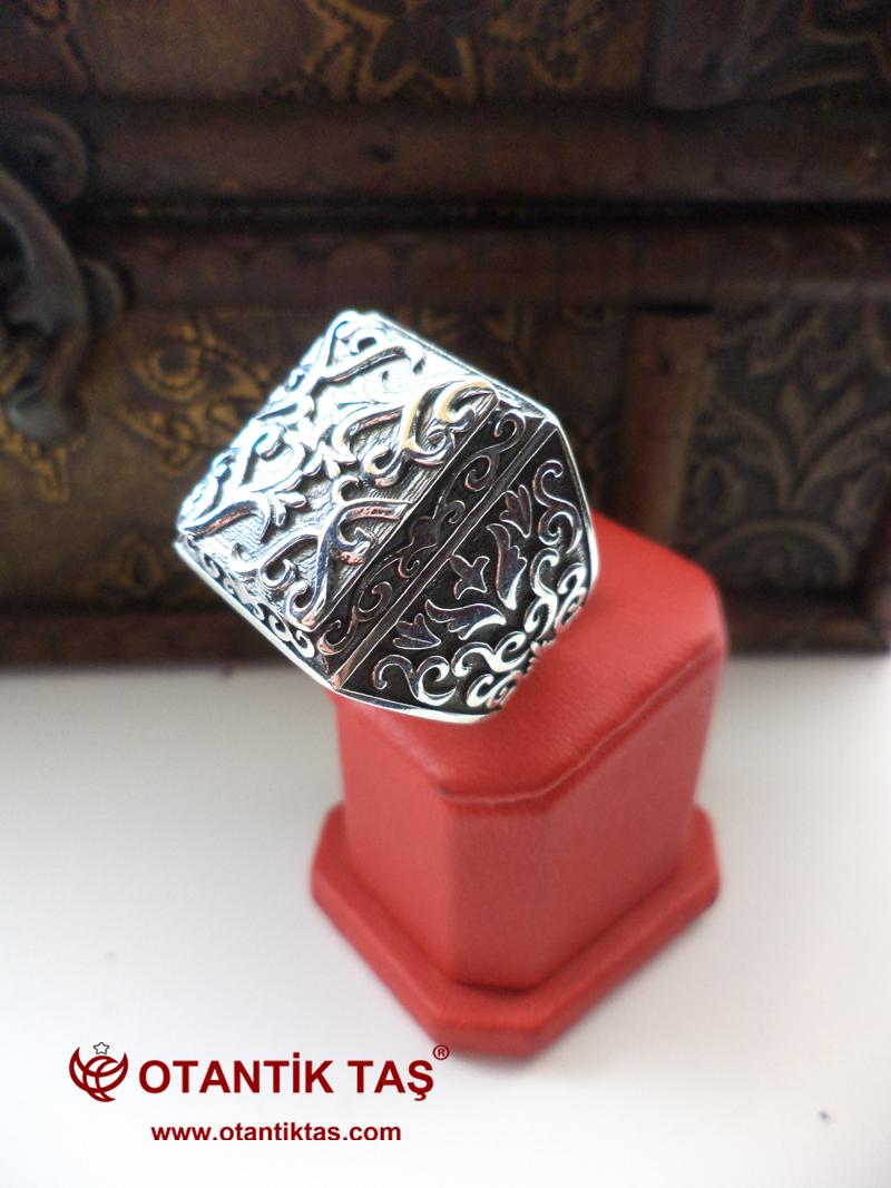 Gümüş İşleme Yüzük