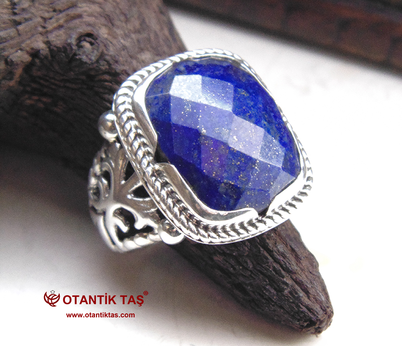 Lapis Lazuli Taşı Yüzük