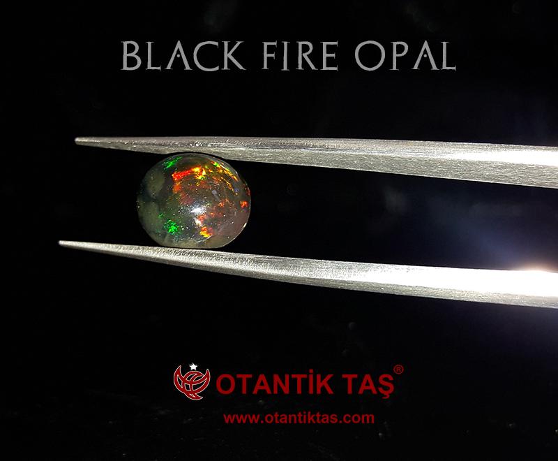 Siyah Opal Taşı