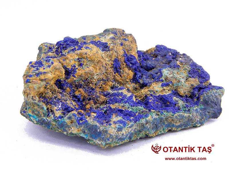 Doğal Mavi Azurit Taşı