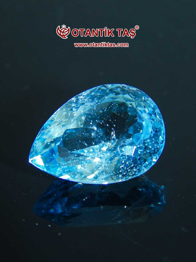 Doğal Mavi Topaz